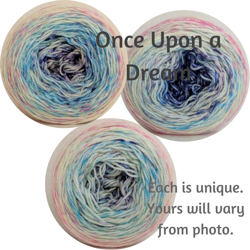 Once Upon A Dream Impressionist Gradient, dyed to order