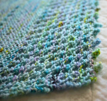 Pattern - Digital Download of One Perfect Skein Shawl by Fredi Baker - frediknits
