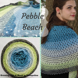 Pebble Beach Shawl Yarn Pack, pattern not included, ready to ship