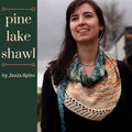 Pine Lake Shawl Kit, ready to ship