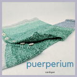 Puerperium Newborn Baby Sweater Yarn Pack, pattern not included, ready to ship