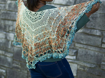 Pattern - Digital Download of Scenic Drive Shawl by Margo Bauman
