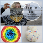 Ombeline Cowl Yarn Pack, pattern not included, ready to ship