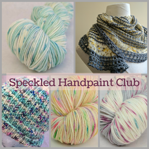 2017 Speckle Spectacular Yarn Club - 4 packages