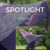 Spotlight Shawl Kit, dyed to order
