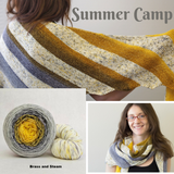 Summer Camp Shawl Yarn Pack, pattern not included, dyed to order