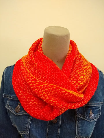 Pattern - Digital Download of Sunny Honey Infinity Scarf by Margo Bauman
