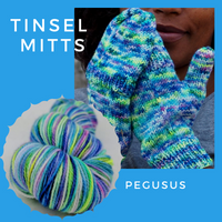 Tinsel Mitts Kit, ready to ship