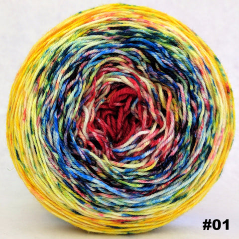 Pippi Longstocking 100g Impressionist Gradient, Trampoline, choose your cake, ready to ship