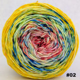 Pippi Longstocking 75g Impressionist Gradient, Trampoline, choose your cake, ready to ship