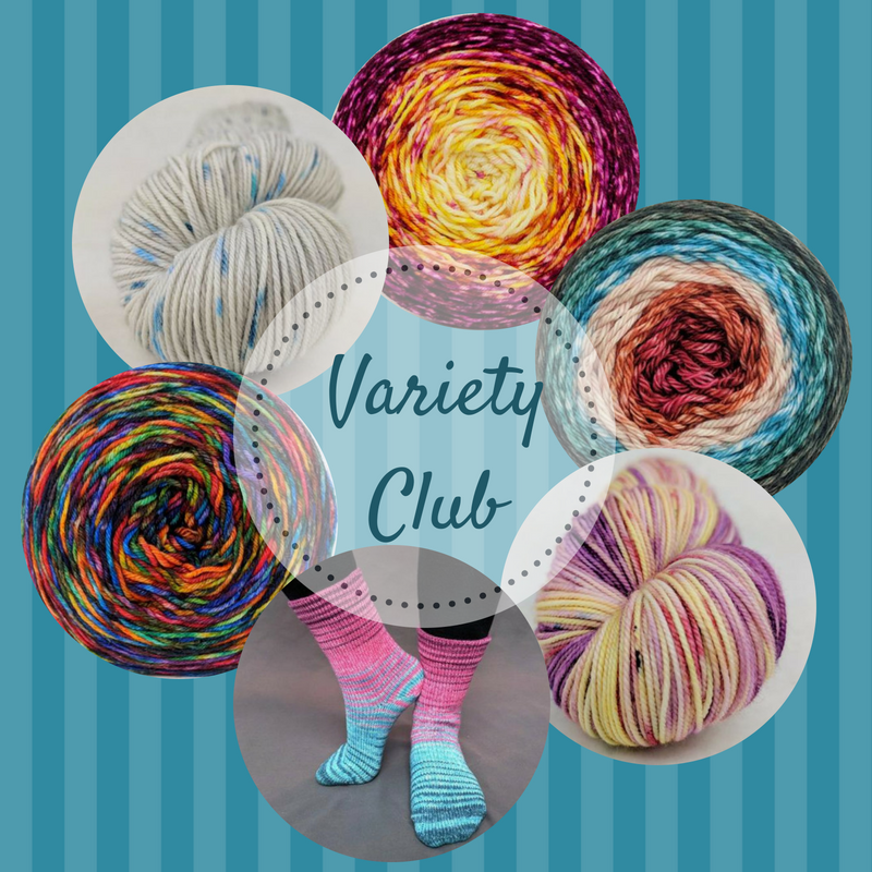 2018 Variety Yarn Club - 6 packages