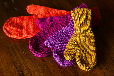 Class: Learn Magic Loop by Knitting the World's Simplest Mittens with Jennifer Rundhaug at our store on December 8th 2018 from 1:00-3:00pm