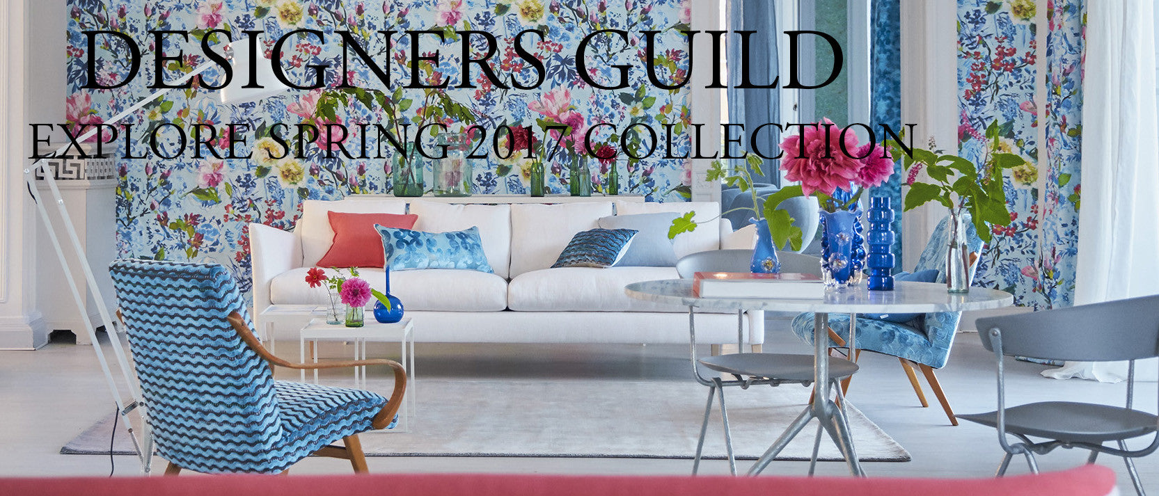 Designers Guild Spring 17 fabrics & Wallpapers