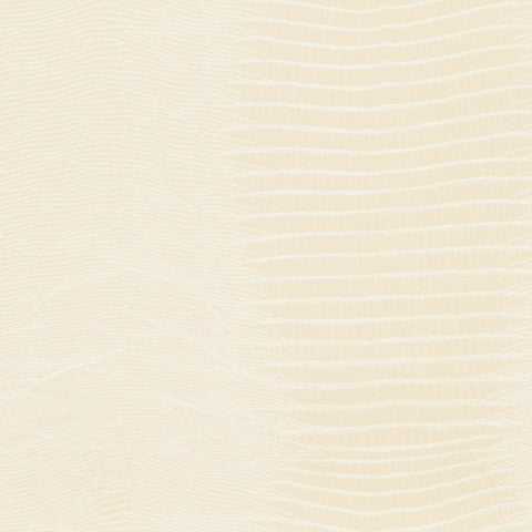 Wemyss Alligator - Ivory Wallpaper Wallpaper - Decor Rooms