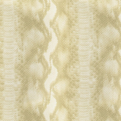 Wemyss Python - Sand Wallpaper Wallpaper - Decor Rooms