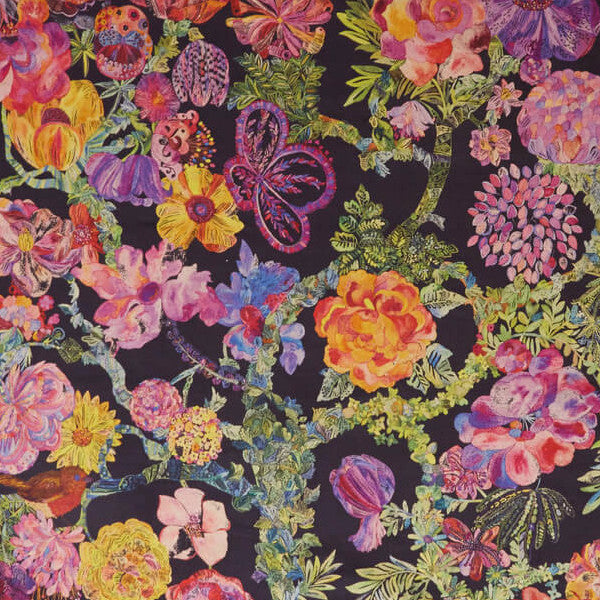 Jeffery Rose Tree Fabric in Orchard by Liberty at Decor Rooms