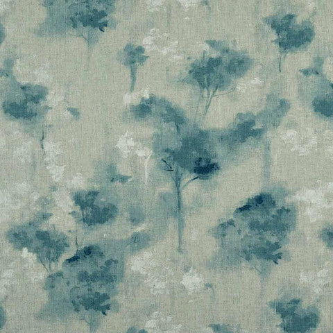 Camengo Foliage - Bleu Fabrics - Decor Rooms