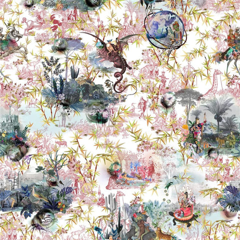Christian Lacroix Reveries - Tomette Fabric Decor Rooms