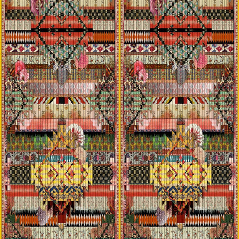 Christian Lacroix FETICHE ARLEQUIN Wallpaper Decor Rooms