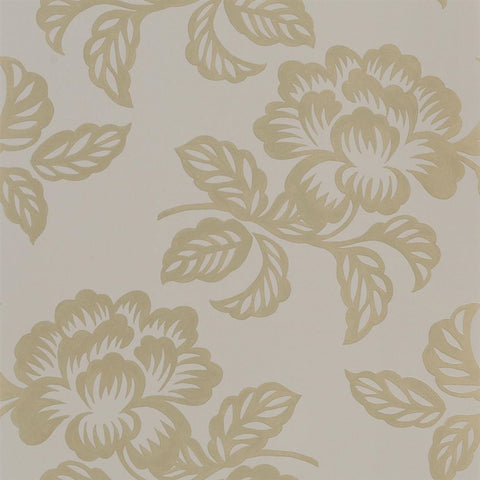Designers Guild Berettino Gold Floral Wallpaper Decor Rooms