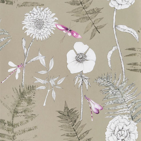 Acanthus Gold wallpaper Designers guild Decor Rooms