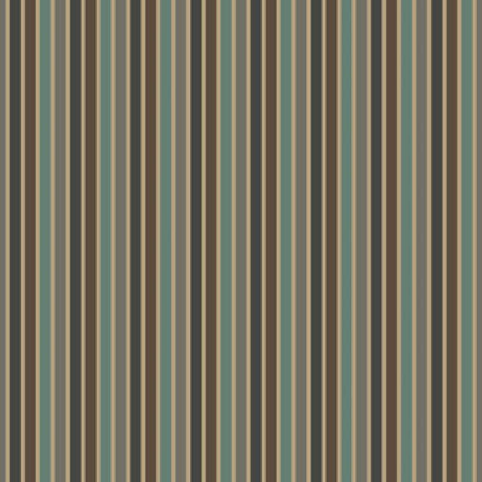 Casamance Sarnia - Aqua/Taupe Fabric  7670424 Fabrics - Decor Rooms