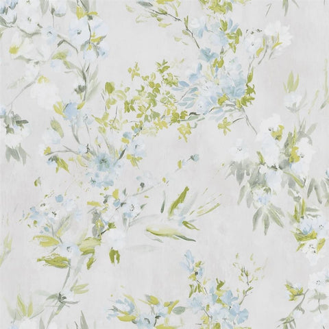 Designers Guild Faience Ducke egg Floral Wallpaper Decor Rooms