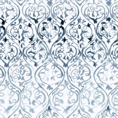 Designers Guild Arabesque Graphite Wallpaper Decor Rooms