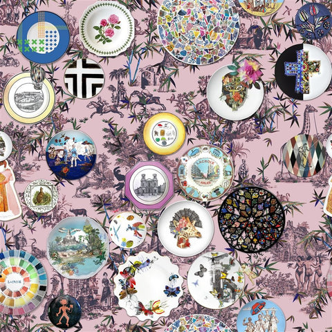 Christian Lacroix Folie - Myrtille Fabric Decor Rooms