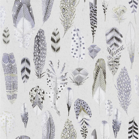 Designers Guild Quill Dove Wallpaper Decor Rooms