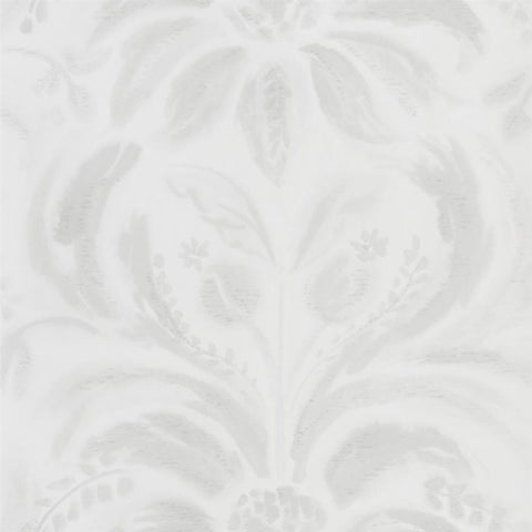 Designers Guild Angelique Damask Chalk Wallpaper decor Rooms
