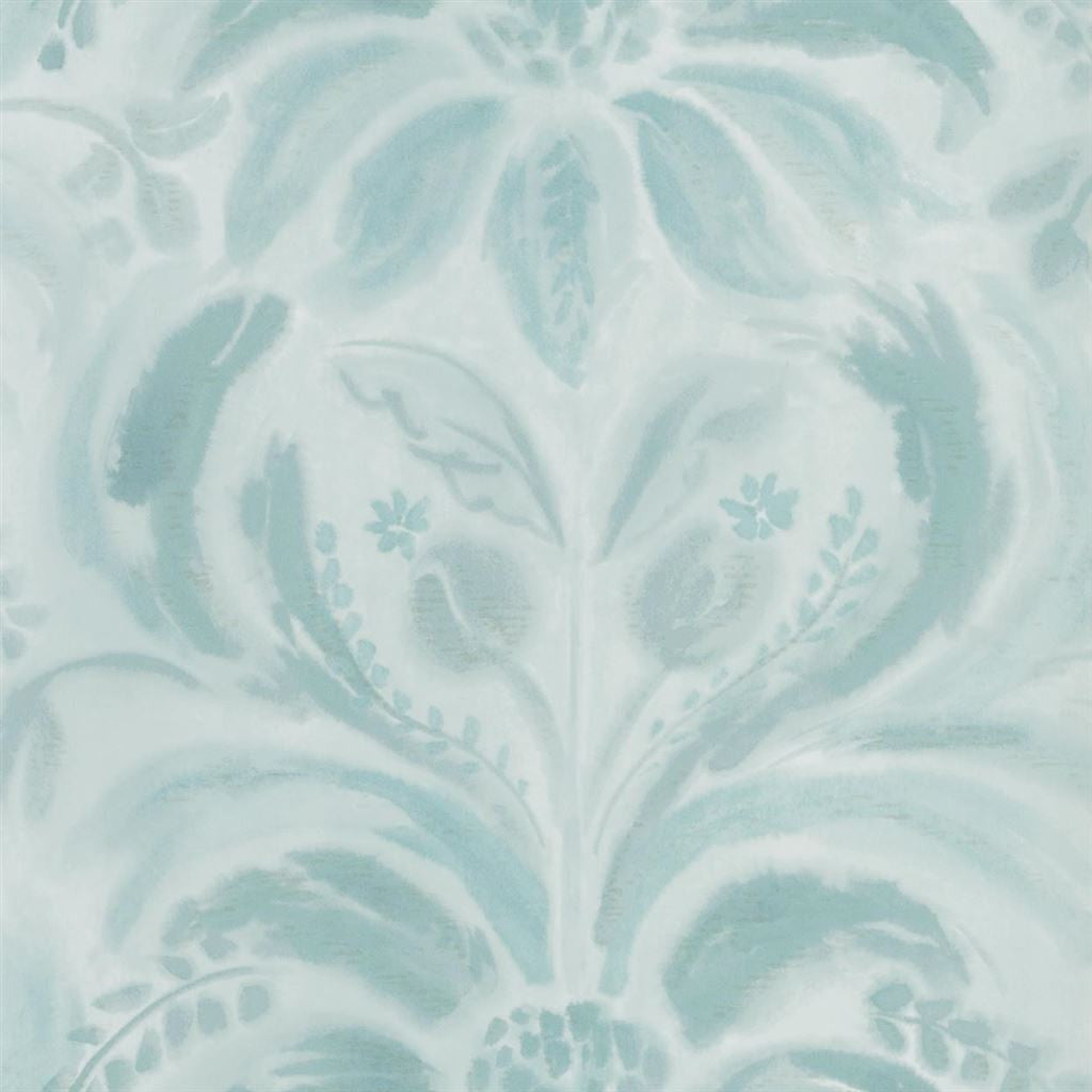 Designers Guild Angelique Damask Jade Wallpaper Decor Rooms