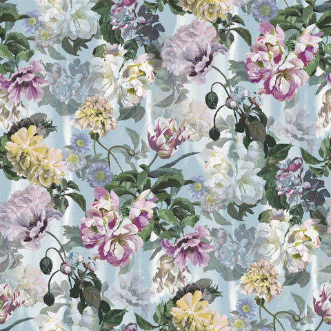 Designers Guild Delft Flower Grande Sky Wallpaper Decor Rooms