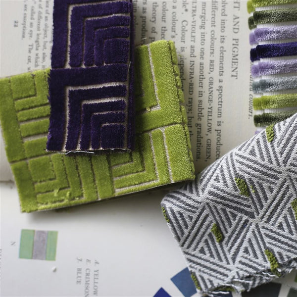 Designers Guild Frith Moss Velvet Fabric Decor Rooms