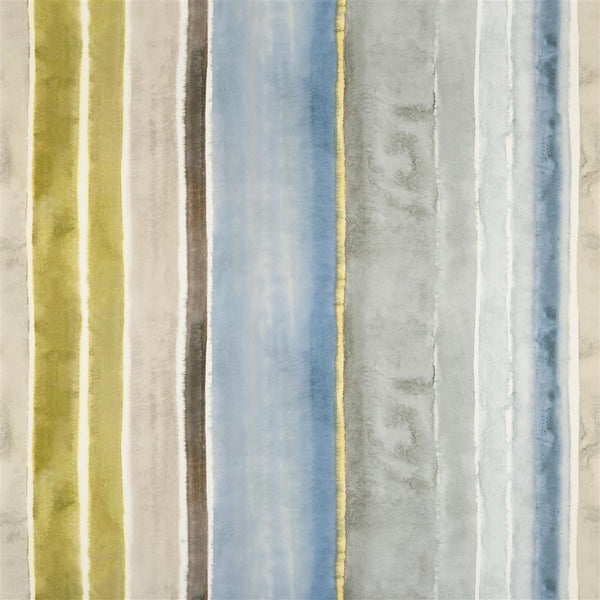 Vallauris Slate Fabric by Designers Guild - Decor Rooms