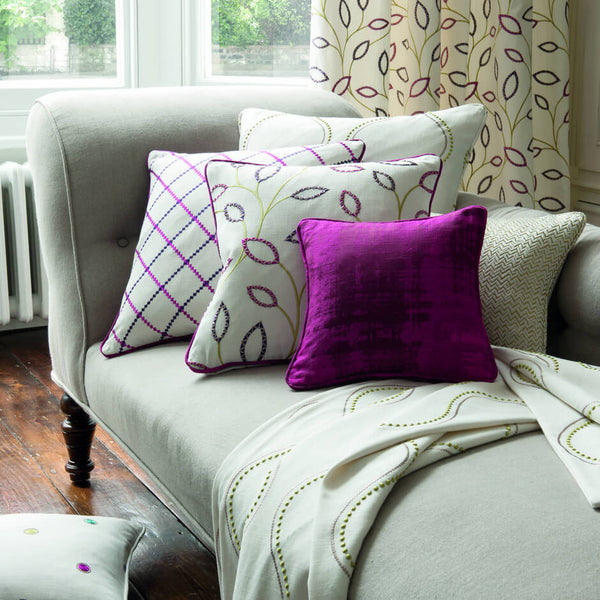 Clarke & Clarke Anthem - Orchid Fabrics - Decor Rooms - 2