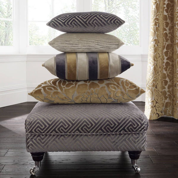 Clarke & Clarke Cosimo - Taupe Fabrics - Decor Rooms - 2