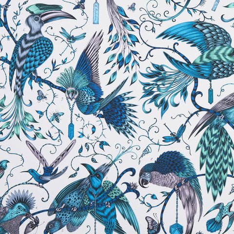 Audubon Jungle Fabric by Clarke & Clarke - Decor Rooms