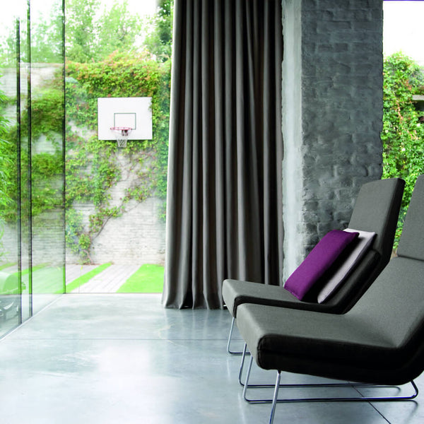Clarke & Clarke Cadiz - Taupe Fabrics - Decor Rooms - 2