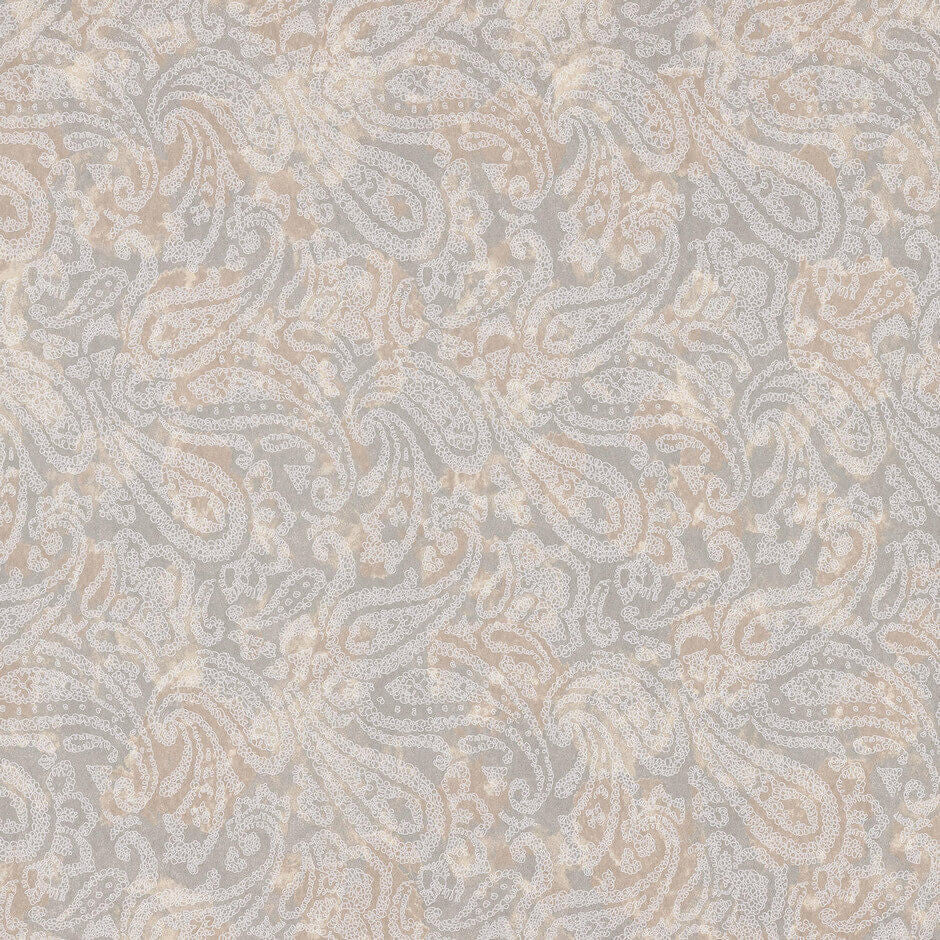 Casamance Tyburn - Chataigne Fabric 73420262 Wallpaper - Decor Rooms - 1