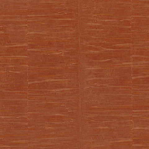 Casamance Steel - Orange Brulee Wallpaper 73450549 Wallpaper - Decor Rooms - 1