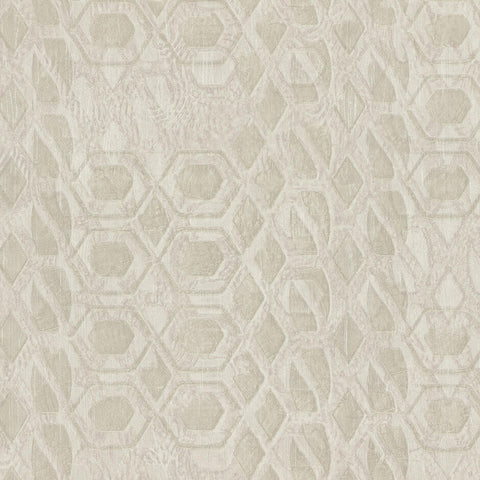 Casamance Bronze - Neige Poudree Wallpaper 73470159 Wallpaper - Decor Rooms - 1