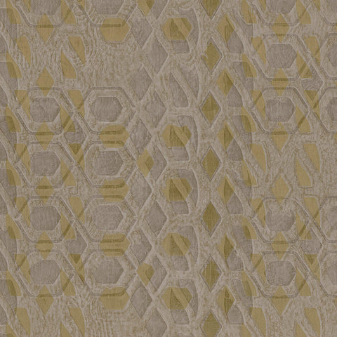 Casamance Bronze - Beige Taupe Wallpaper 73470363 Wallpaper - Decor Rooms - 1