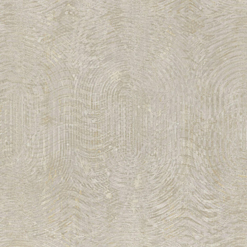 Casamance Nickel - Nacre Wallpaper 73480169 Wallpaper - Decor Rooms - 1