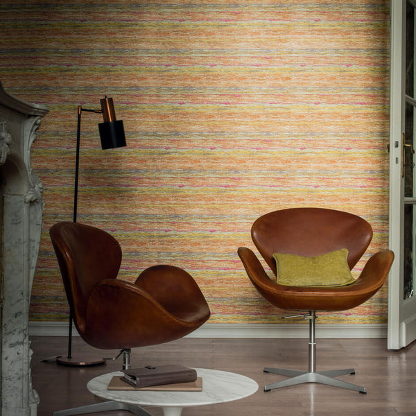 Casamance Sanderson - Jaune Wallpaper 70190394 Wallpaper - Decor Rooms - 2