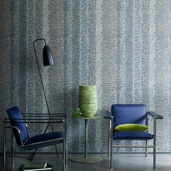 Casamance Maneira - Bleu Roi Wallpaper 73510364 Wallpaper - Decor Rooms - 2