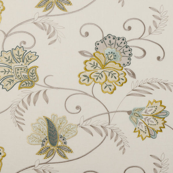 Clarke & Clarke Bukhara - Citrus Fabrics - Decor Rooms - 1