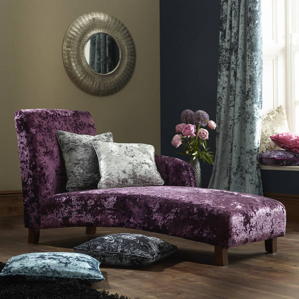 Clarke & Clarke Crush - Grape Fabrics - Decor Rooms - 2