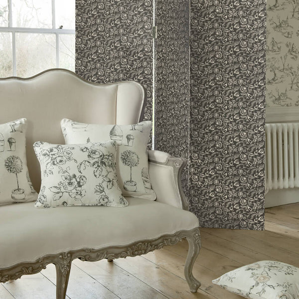 Clarke & Clarke Evelina - Rose Fabrics - Decor Rooms - 2