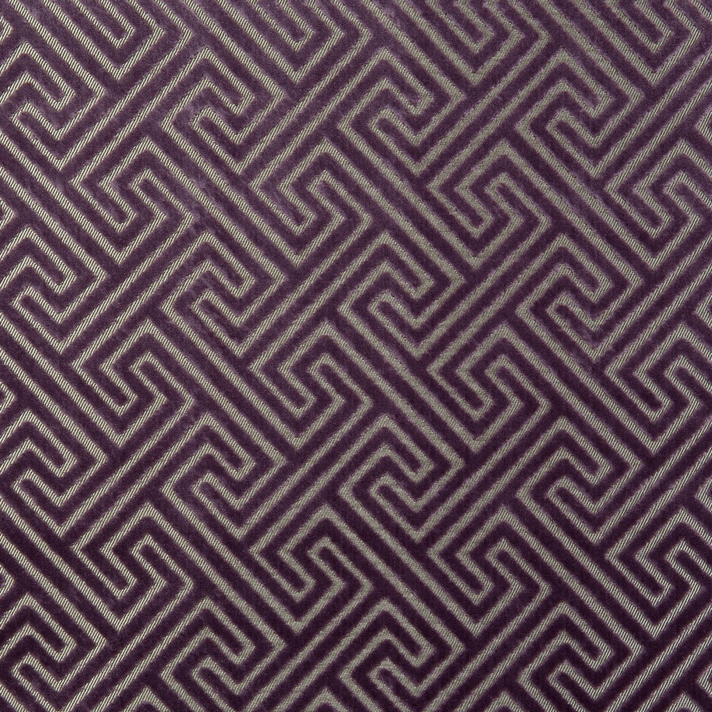 Clarke & Clarke Cosimo - Grape Fabrics - Decor Rooms - 1